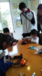 イベント出張フラワーアレンジ教室