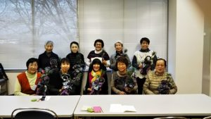 イベント出張お正月飾り教室